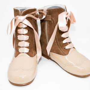 Geppetto's Girl Brown/Beige Boots
