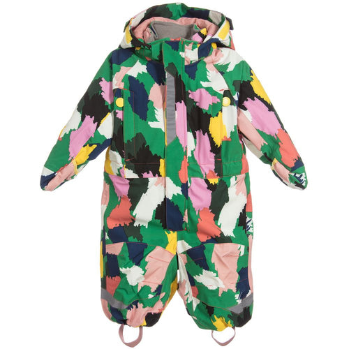 Stella McCartney Baby Girl Multicolor Printed Snowsuit