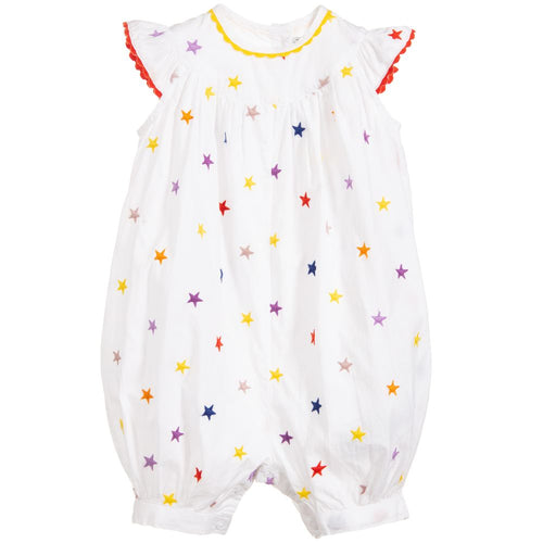 Stella McCartney Kids Embroidery Stars All-In-One