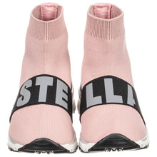 Stella McCartney Sock Sneaker Pink With Logo