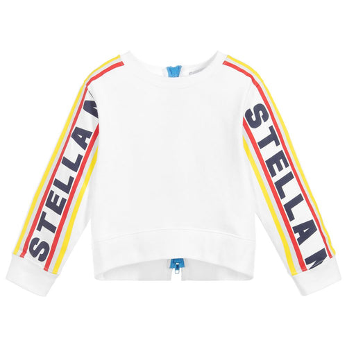 Stella McCartney Kids White Logo Sport Tracksuit