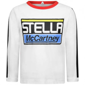 Stella McCartney Kids Boys Cotton Logo Top