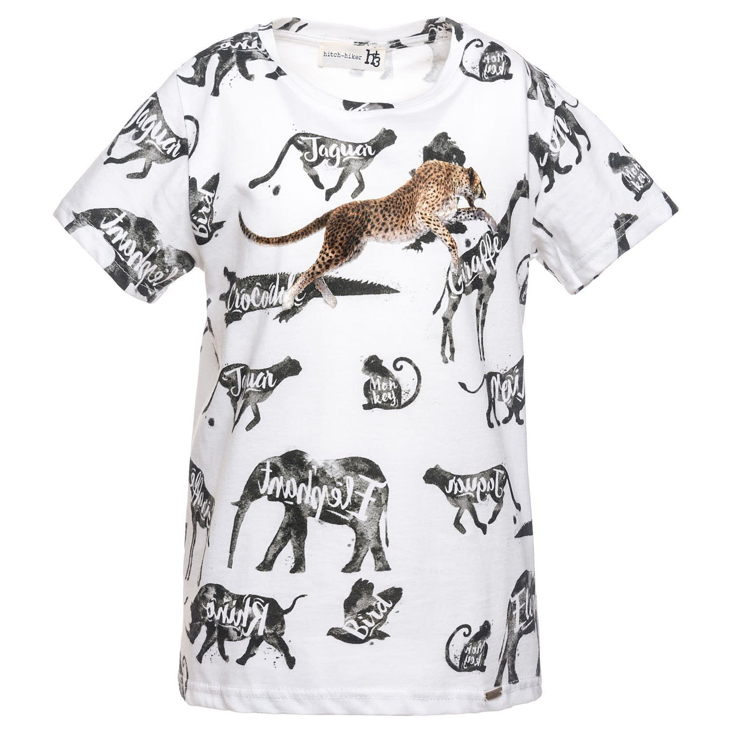 Monnalisa - Hitch-Hiker - Savannah-T-Shirt mit Aufdruck
