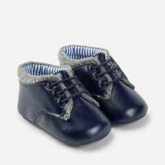 Mayoral Baby Boy Formal Pram Shoes Deep Blue