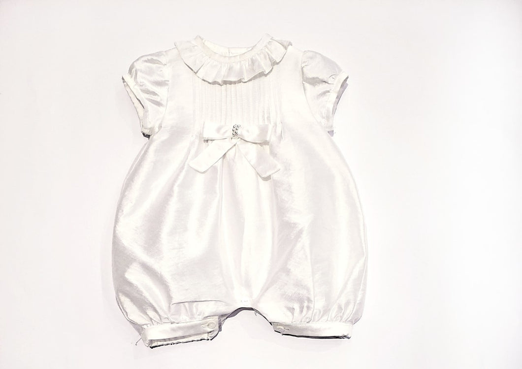Bimbalo Christening Onesie with a Bow