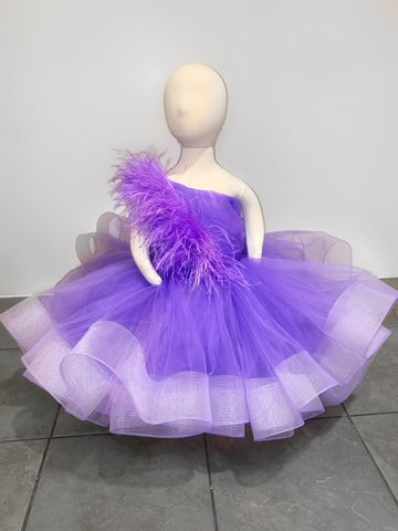 Royal Purple Formal Dress