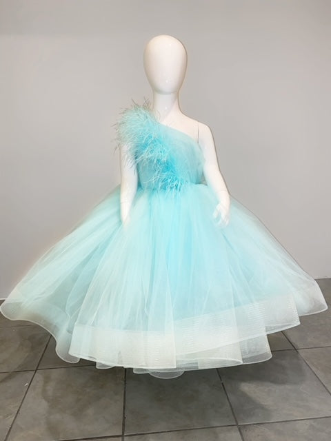 Tiffany Blue Formal Dress