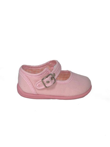 Gepo Light Pink Canvas Shoe