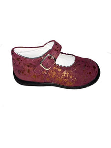 Geppettos Purple Suede Mary Janes