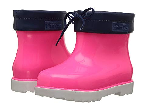 Mini Melissa Rain Boot (Toddler/Little Kid) Pink