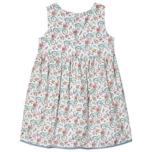 Dr. Kid Girls Bicycle Print Cotton Dress