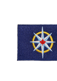 RCGS Compass Rose flag expedition patch