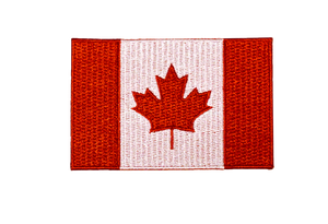 Canada flag expedition patch