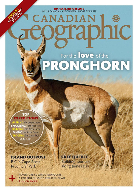 May/June 2018 | For the Love of the Pronghorn