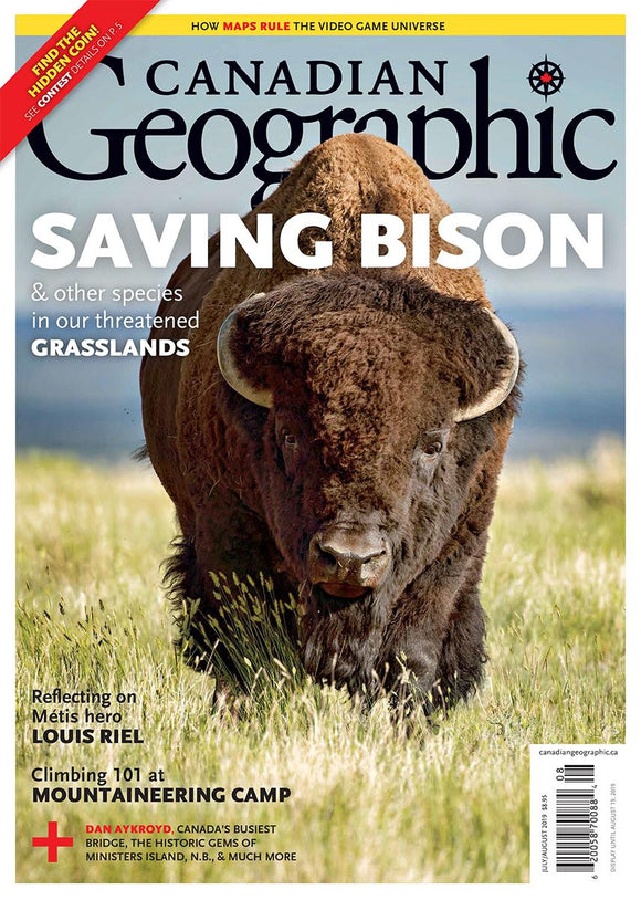 July/August 2019 | Saving Bison