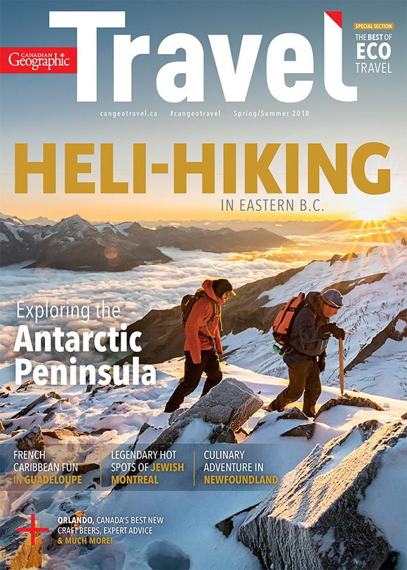 Spring/Summer 2018 | Heli-Hiking in Eastern B.C.