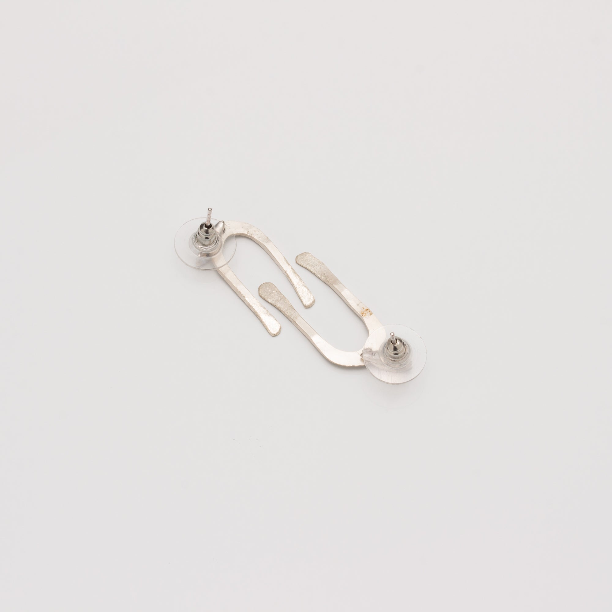 ARCO STERLING SILVER POST EARRINGS // SMALL