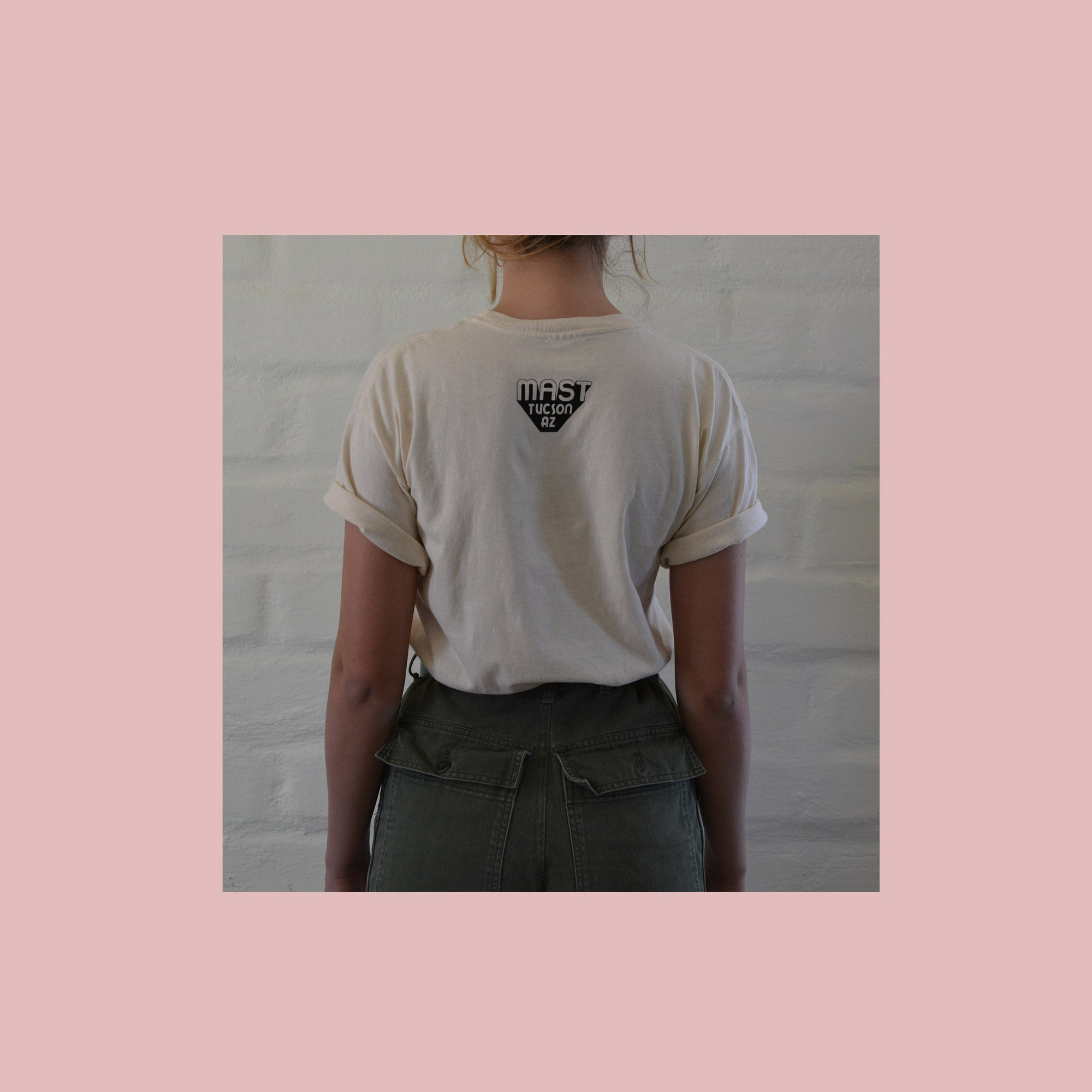 DESERT RAT // T-SHIRT // CREAM