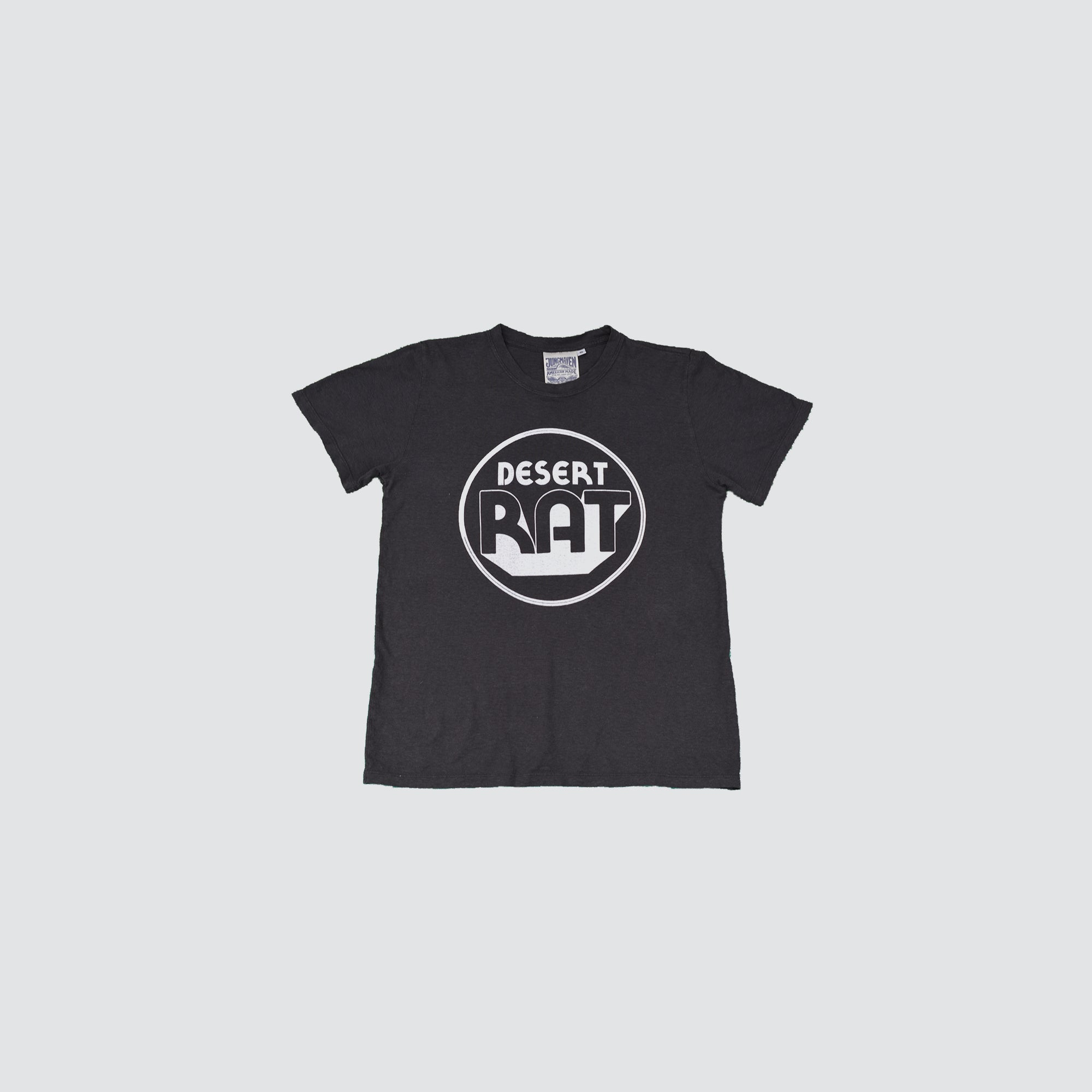 DESERT RAT // T-SHIRT // WASHED BLACK