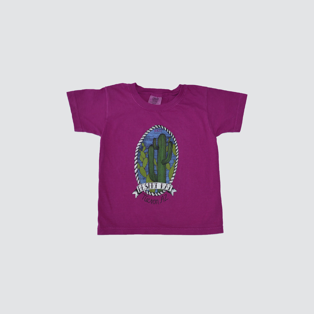 KIDS // DESERT RAT // T-SHIRT // BOYSENBERRY