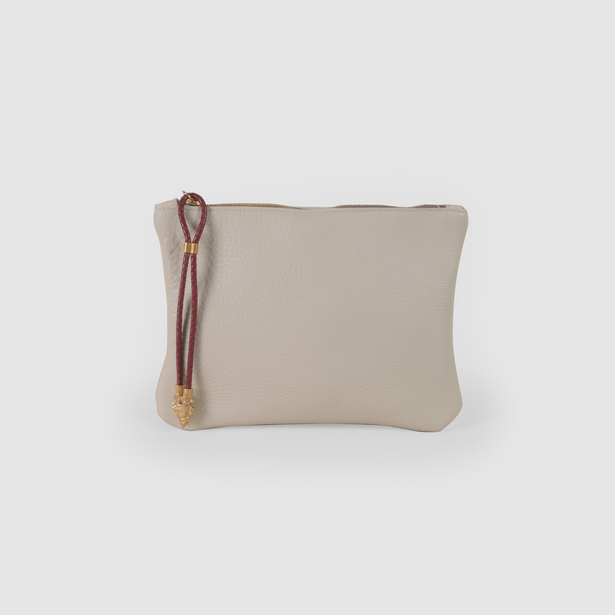 BOLO ARROW PULL CLUTCH  //  BONE AND SCARLETT