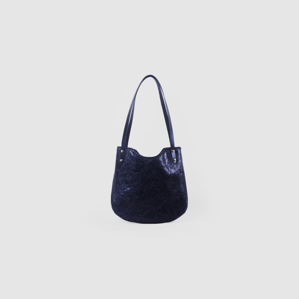 OUTSIDER SHOULDER BAG // BLACK ROSES