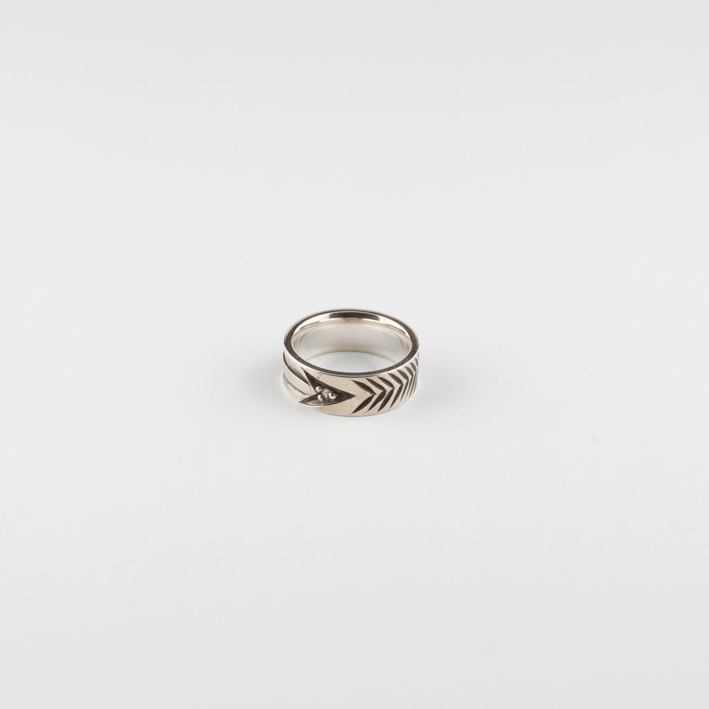 ARROW RING // WIDE