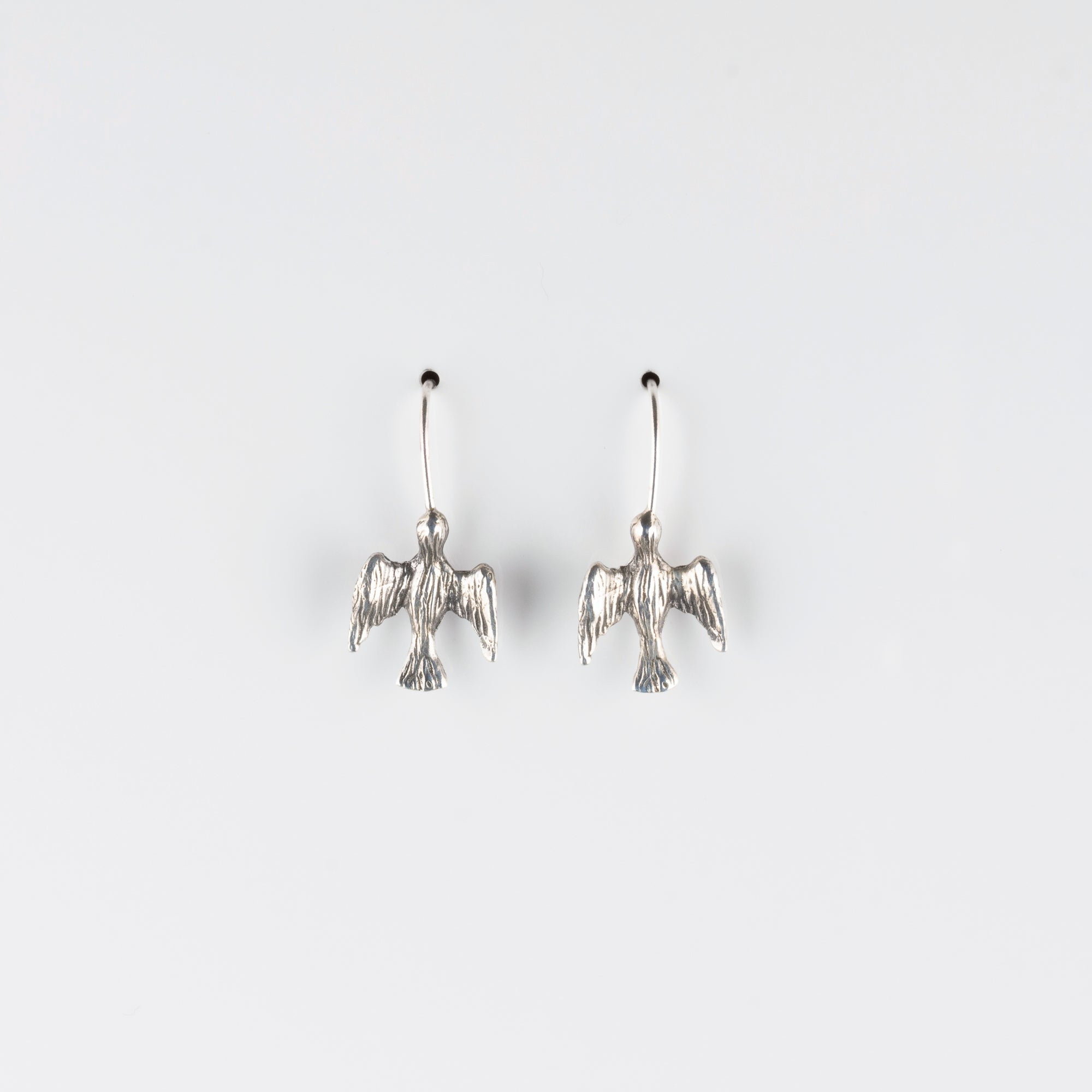 BIRD IN FLIGHT // SILVER EARRINGS