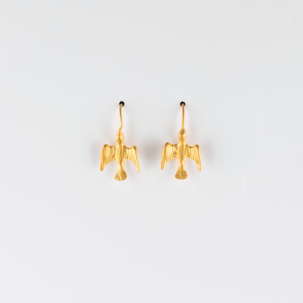 BIRD IN FLIGHT // VERMEIL EARRINGS