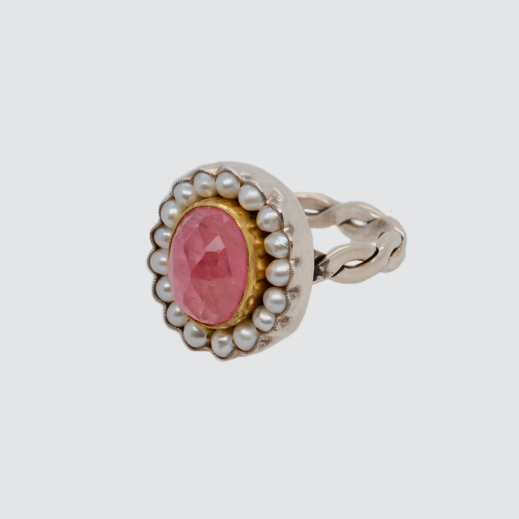 HEIRLOOM RING //  PINK TOURMALINE