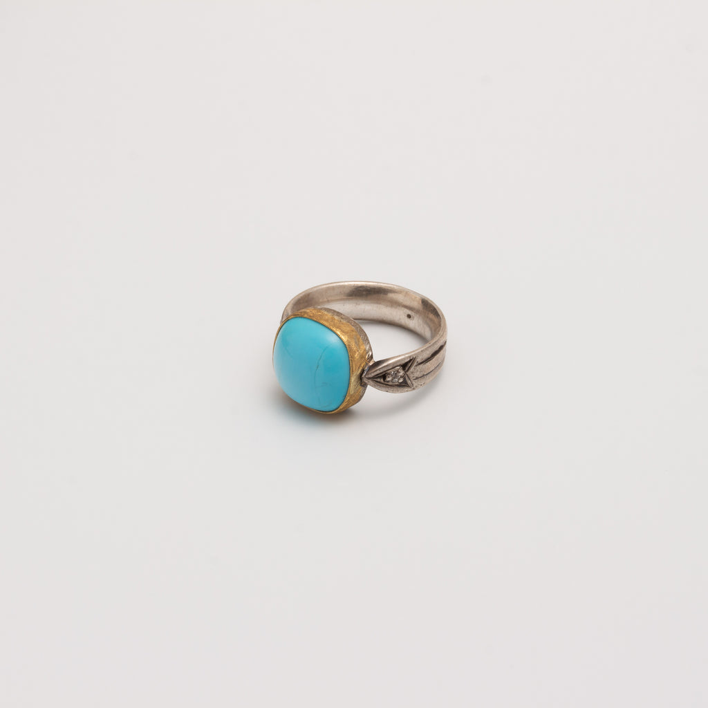 ARROW RING // SLEEPING BEAUTY TURQUOISE