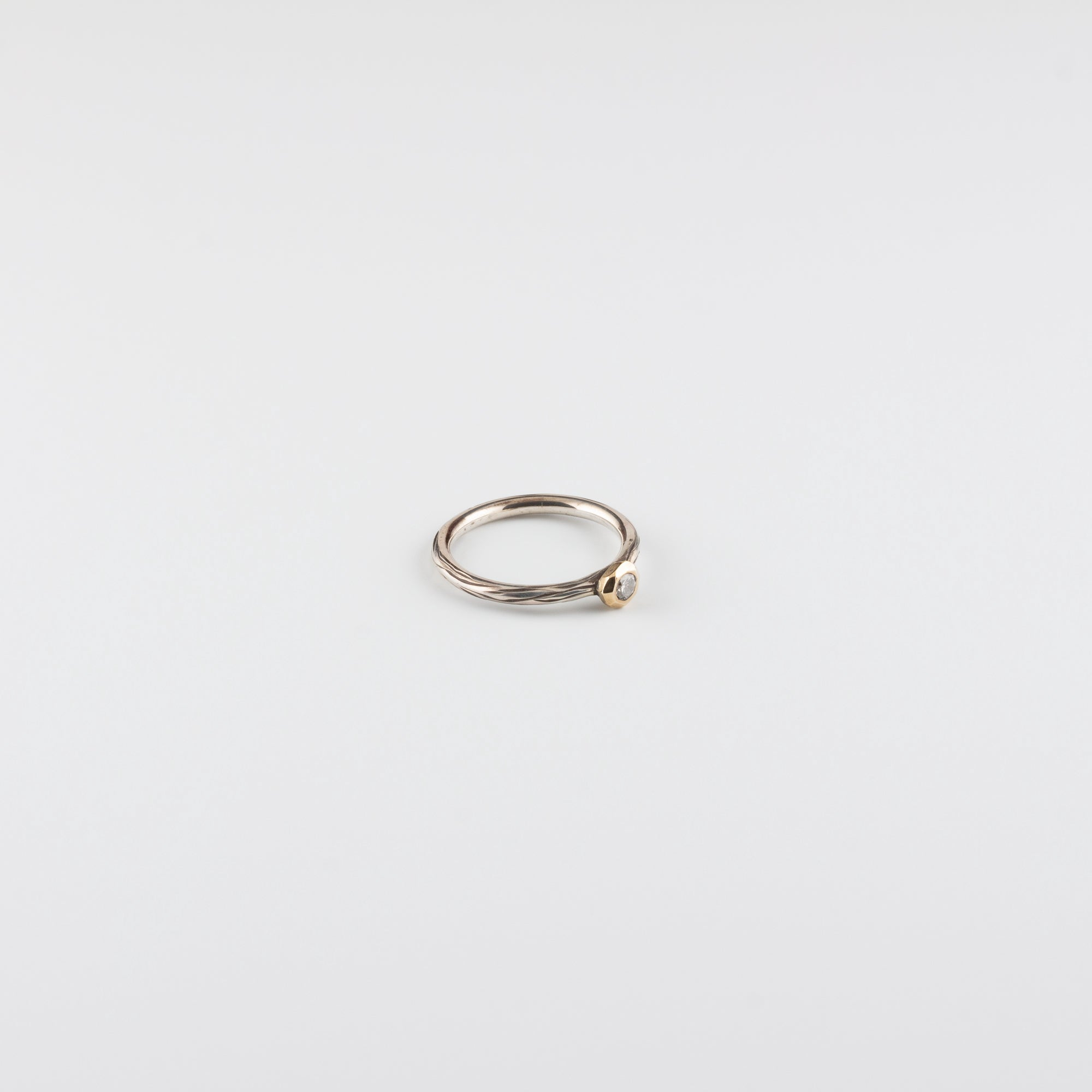 DIAMOND DROP RING // SMALL