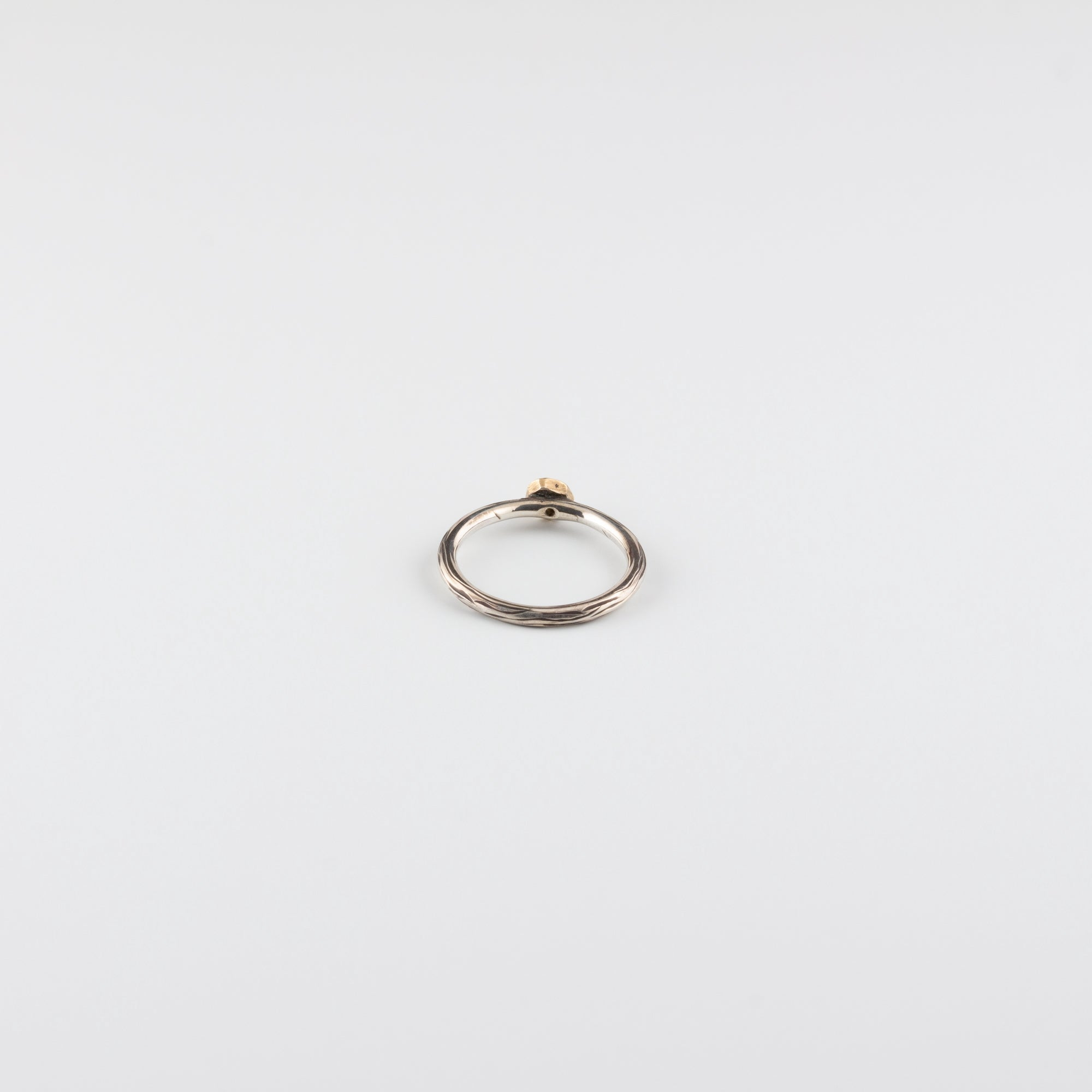 DIAMOND DROP RING // LARGE