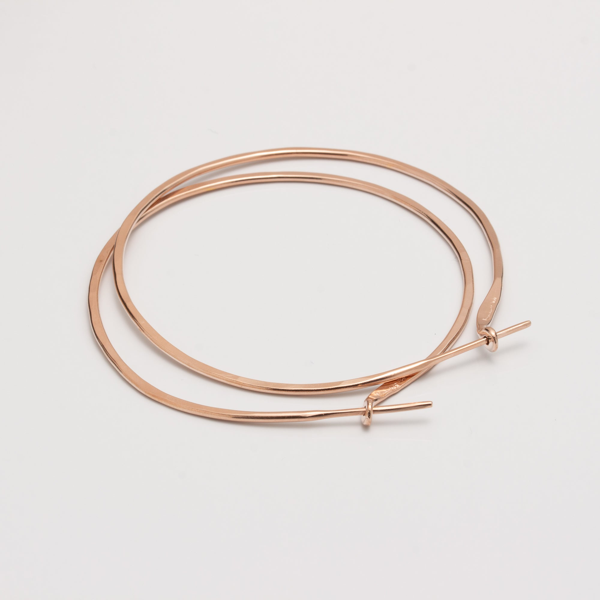 HOOPS // MEDIUM // ROUND // ROSE GOLD