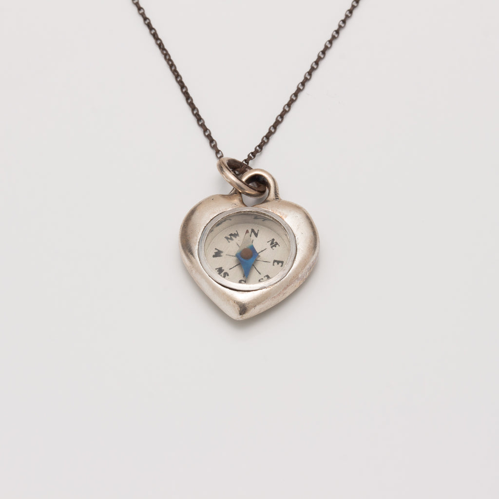 HEART COMPASS NECKLACE