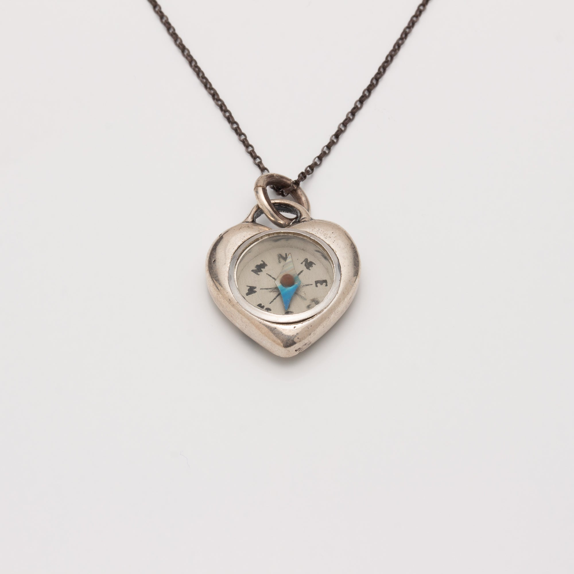 """MY HEART BELONGS IN TUCSON"" COMPASS NECKLACE"