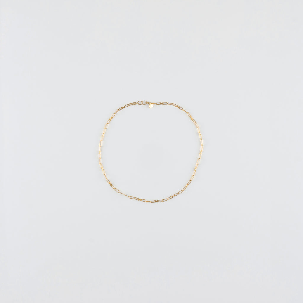 SOFIE CHAIN // 22K GOLD