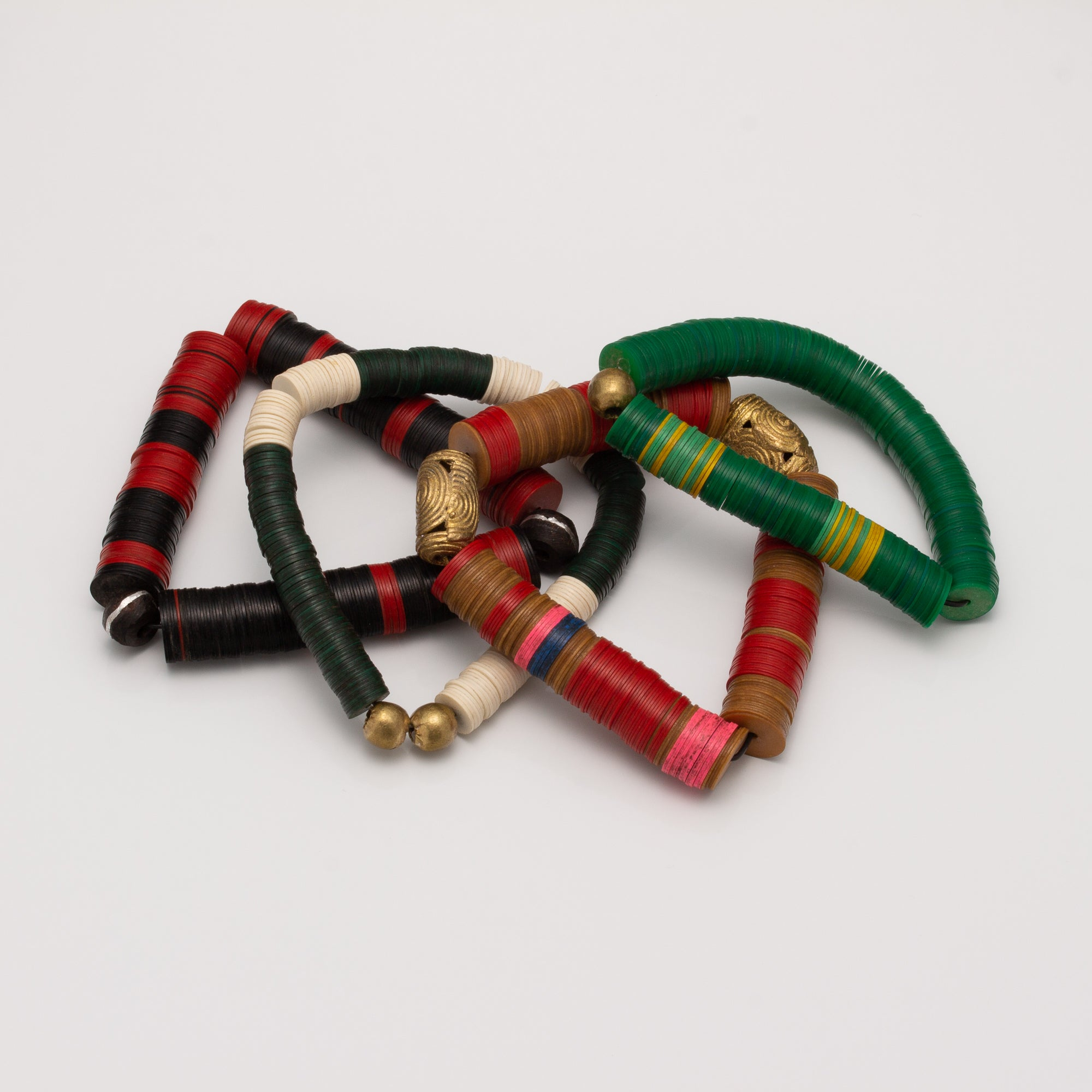 AFRICAN WILDS  VINYL BRACELET // BIGGIES