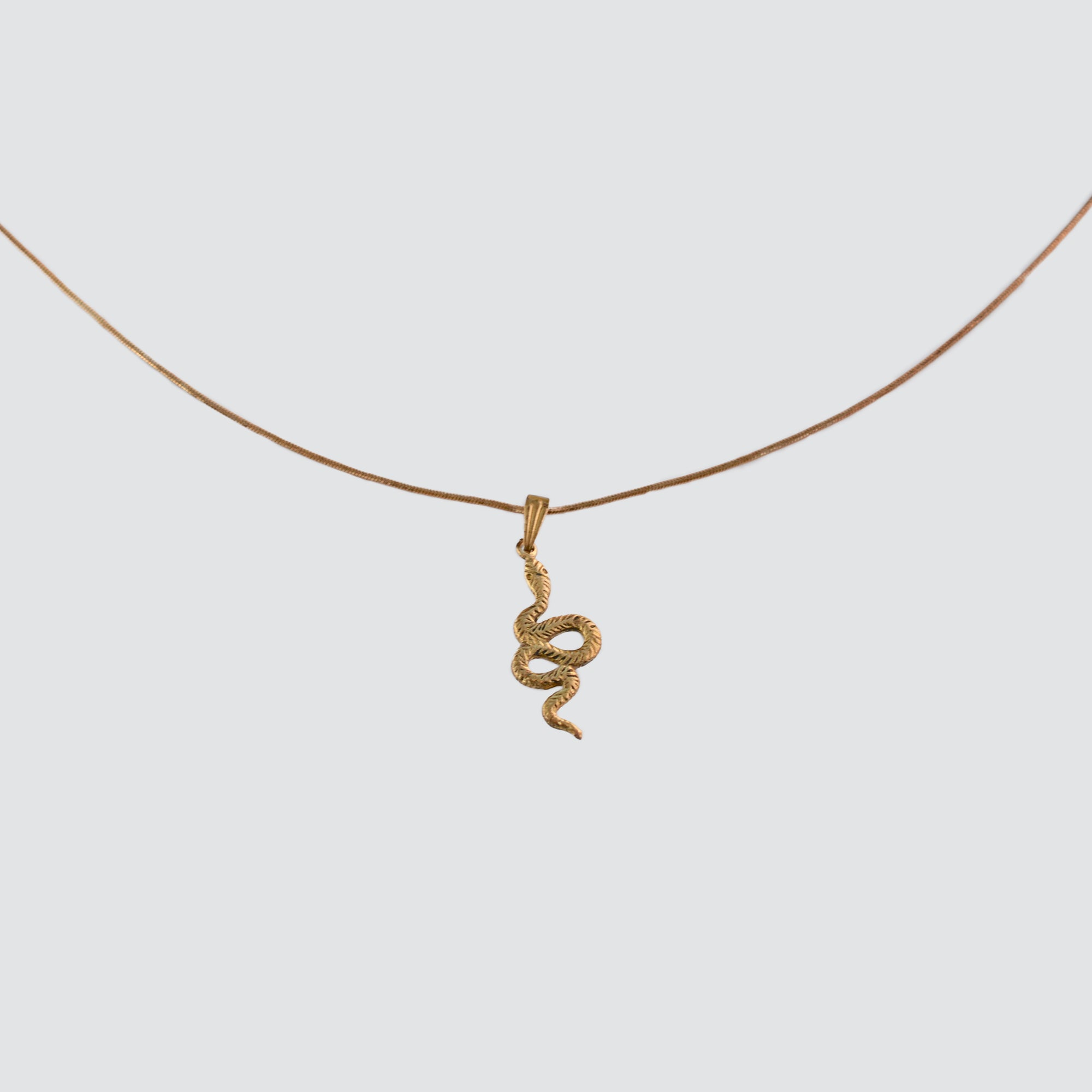 GREAT SUCCESS ADJUSTABLE LENGTH  NECKLACE // SERPENT