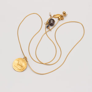 PRIMA VERMEIL ADJUSTABLE NECKLACE // PONY