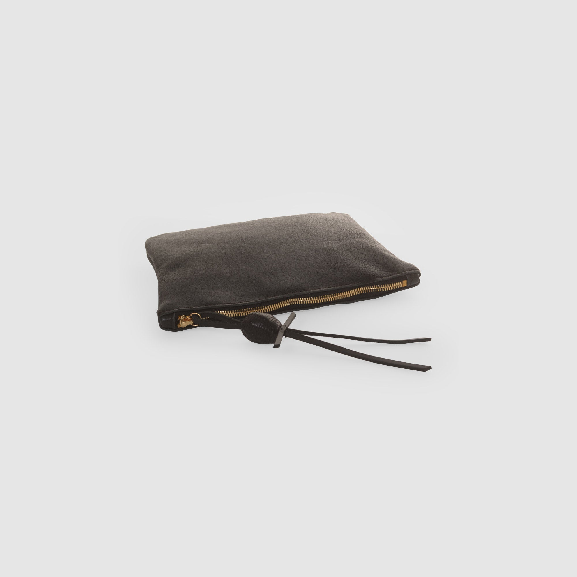 BOULE DE CUIRE CLUTCH  //  BLACK