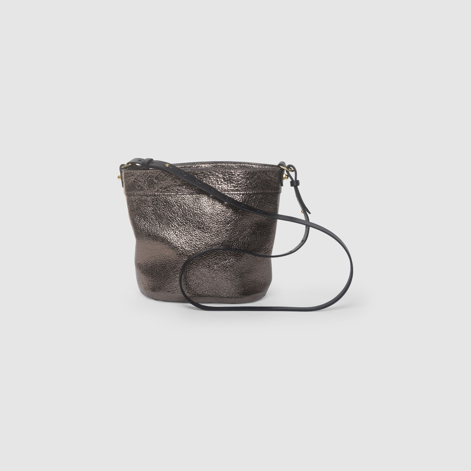 BUCKET BAG // GALACTIC BRONZE