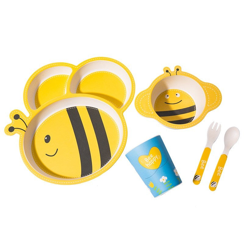 Kids Bamboo Feeding Set - Mudgee Honey Haven