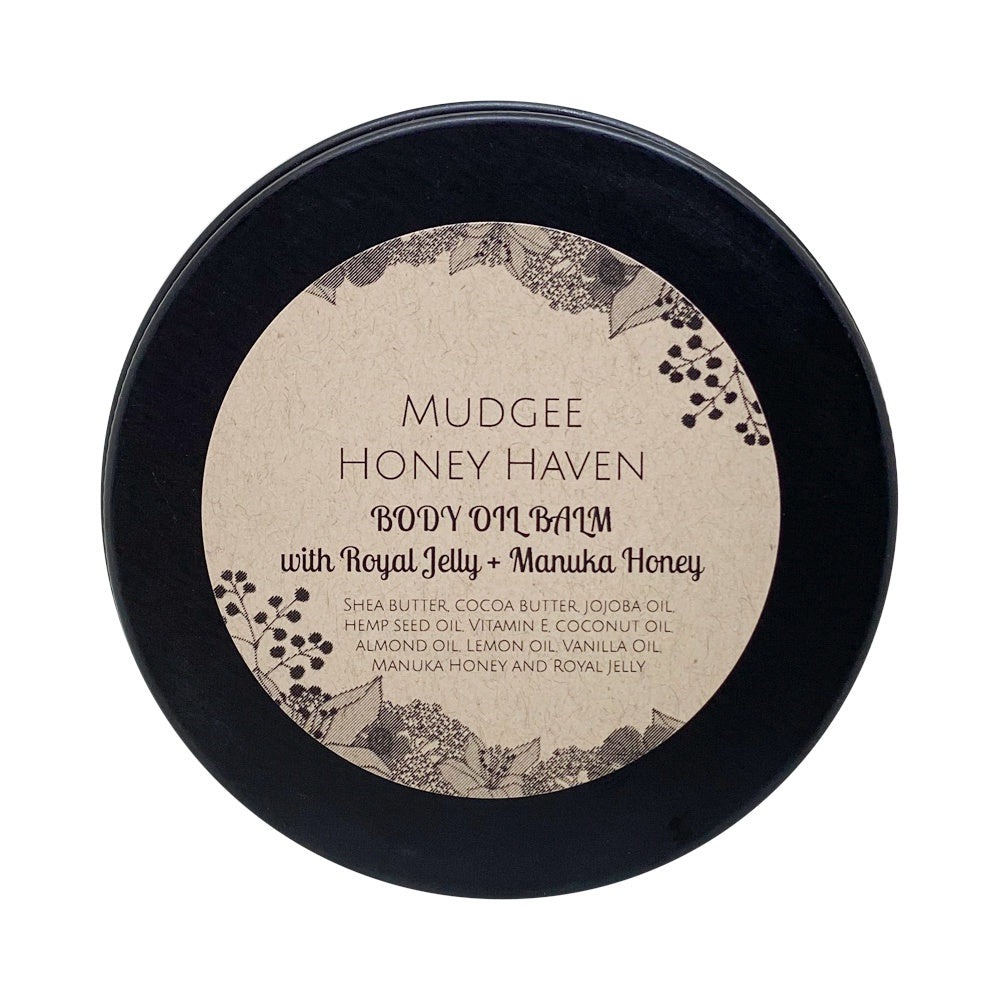 Body Oil Balm with Royal Jelly & Manuka 100ml - Mudgee Honey Haven