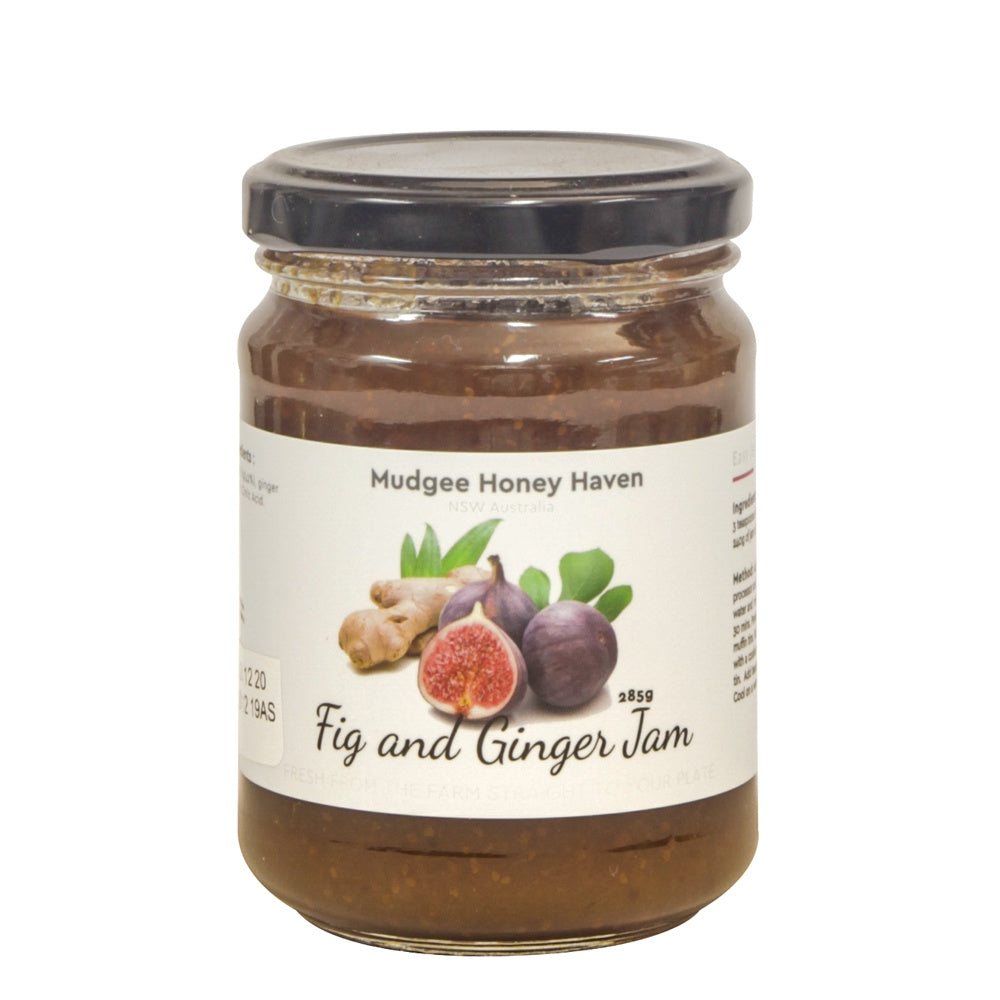 Fig & Ginger Jam 285g - Mudgee Honey Haven