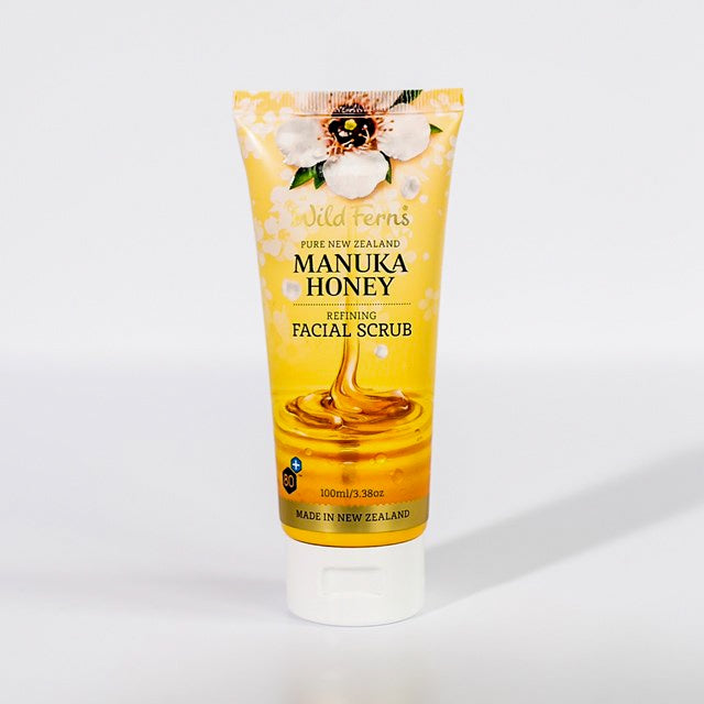 Refining Facial Scrub 100ml - Mudgee Honey Haven