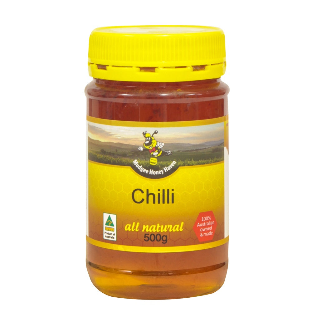 Chilli Honey 500g - Mudgee Honey Haven