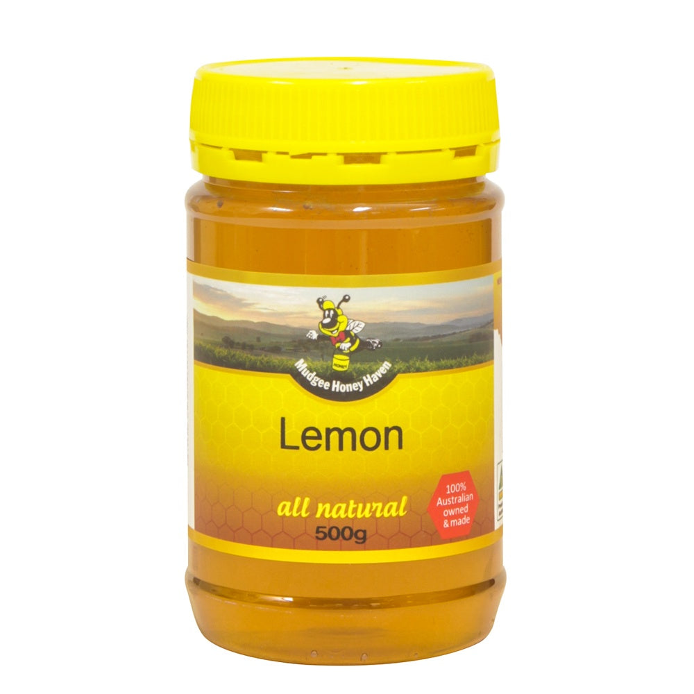 Lemon Honey 500g - Mudgee Honey Haven