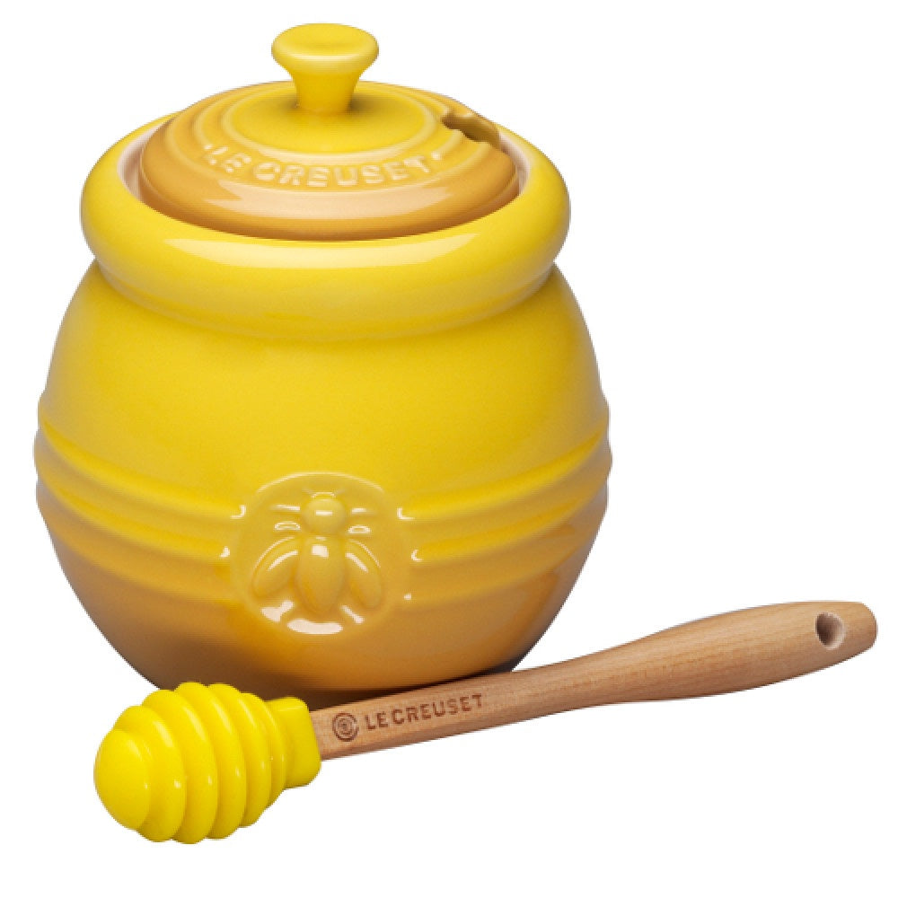 Honey Pot with Dipper - Mudgee Honey Haven