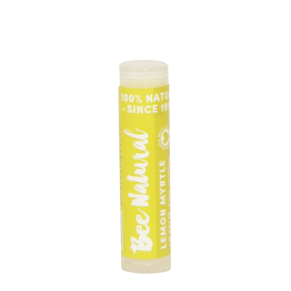 Bee Natural Lip Balm Lemon Myrtle - Mudgee Honey Haven